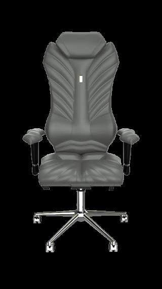 Кресло MONARCH - экокожа графит