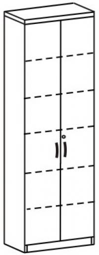 Шкаф для документов 3 Д-721