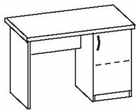 Стол офисный 2 СТ-710