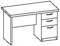 Стол офисный 2 СТ-612