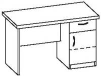 Стол офисный 2 СТ-713