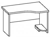 Стол офисный 2 СУ-120