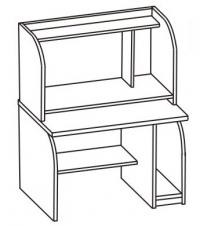 Стол компьютерный 2 СК-001