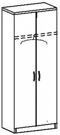 Шкаф платяной 7 ДП-718