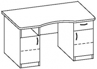 Стол офисный 7 СД-146