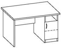 Стол офисный 7 СТ-612
