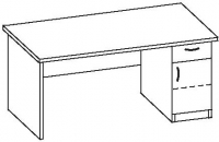 Стол офисный 7 СТ-616