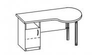 Стол офисный 2 СТА-140