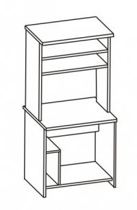 Стол компьютерный 2 СК-003