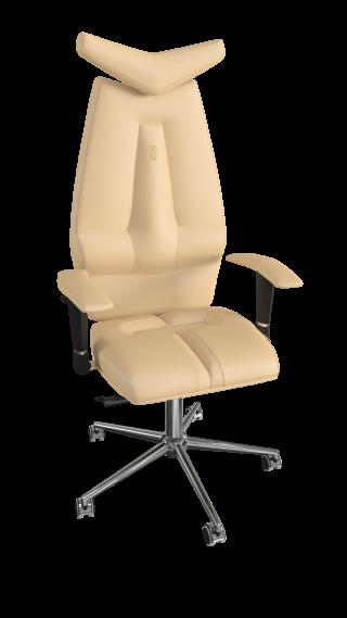 Кресло JET - кожзам бежевый