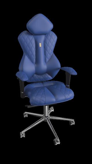 Кресло ROYAL - кожзам синий