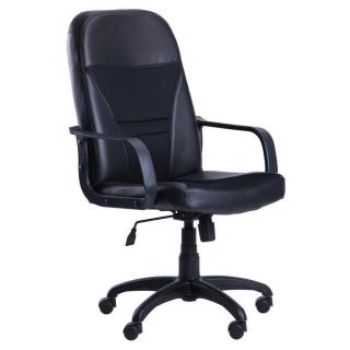 Кресло Анкор пластик чёрный