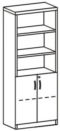 Шкаф 3 ДМ-718