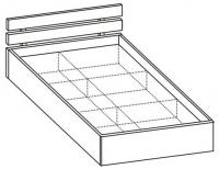Кровать полуторная 5 КР-121