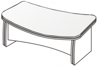 Стол директорский 3 СБ-920