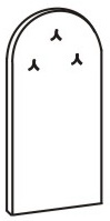 Вешалка настенная 5 ВН-854