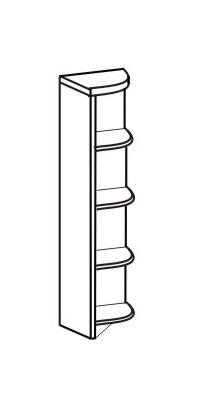 Пенал угловой 2 ДУ-140