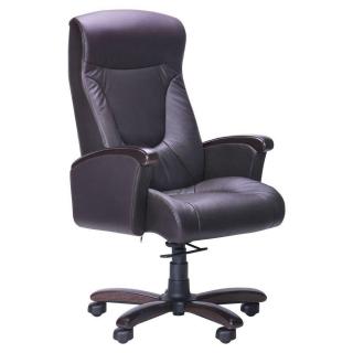 Кресло Галант DeepTilt кожа чёрная