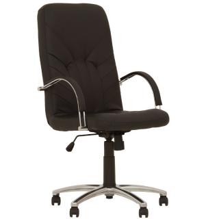 Кресло руководителя MANAGER steel chrome