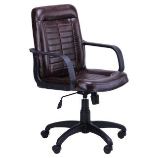 Кресло Нота пластик коричневый мадрас