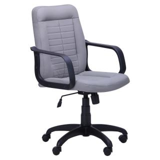 Кресло Нота белый кожзаменитель