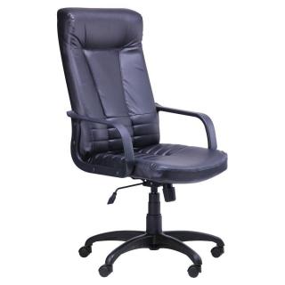 Кресло Ричман - кожзам чёрный