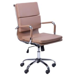 Кресло Slim FX LB кожзам бежевый