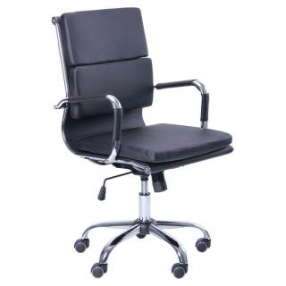 Кресло Slim FX LB кожзам чёрный