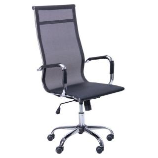 Кресло Slim Net HB сетка чёрный