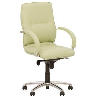 Кресло руководителя STAR steel LB chrome