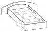 Кровать двуспальная 5 КР-120