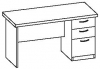 Стол офисный 2 СТ-714