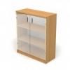 Шкаф со стеклом 2 ДС-711