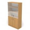 Шкаф со стеклом 2 ДС-718