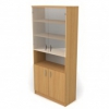 Шкаф со стеклом 2 ДС-721