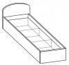Кровать односпальная 5 КР-118