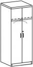 Шкаф платяной 3 ДП-751