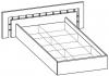 Кровать двуспальная 5 КР-122
