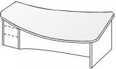 Стол директорский 3 СЛ-624
