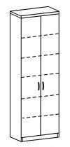 Шкаф-стеллаж 2 Д-721