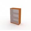 Шкаф со стеклом 7 ДС-711