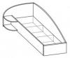 Кровать односпальная 5 КР-119