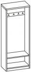 Шкаф платяной 5 П-738