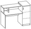 Стол компьютерный 2 СЮ-612
