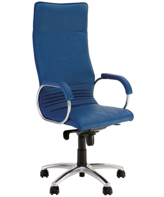 Кресло руководителя ALLEGRO steel chrome