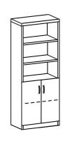 Шкаф-стеллаж 2 ДМ-718