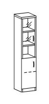 Пенал со стеклом 2 ДС-308