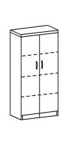 Шкаф-стеллаж 2 Д-714