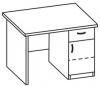 Стол письменный 5 СТ-610