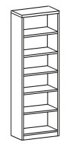 Шкаф-стеллаж открытый 2 ДО-721